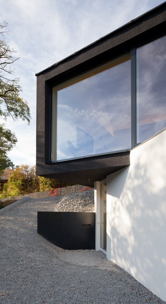 Czarno na bia ym dom w wenzenbach niemcy fabi - Fabi architekten ...