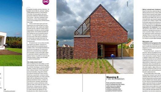 """""""Moja strona architektury"""" – artykuł dla Zawód:Architekt #38"""