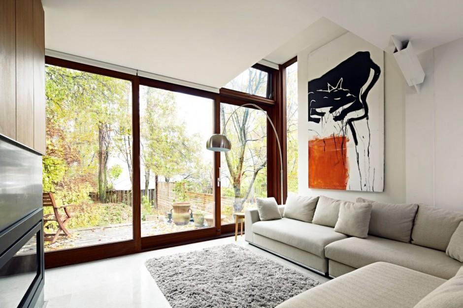 Jesienne odkrycie – Renowacja domu w Toronto / Drew Mandel Architects