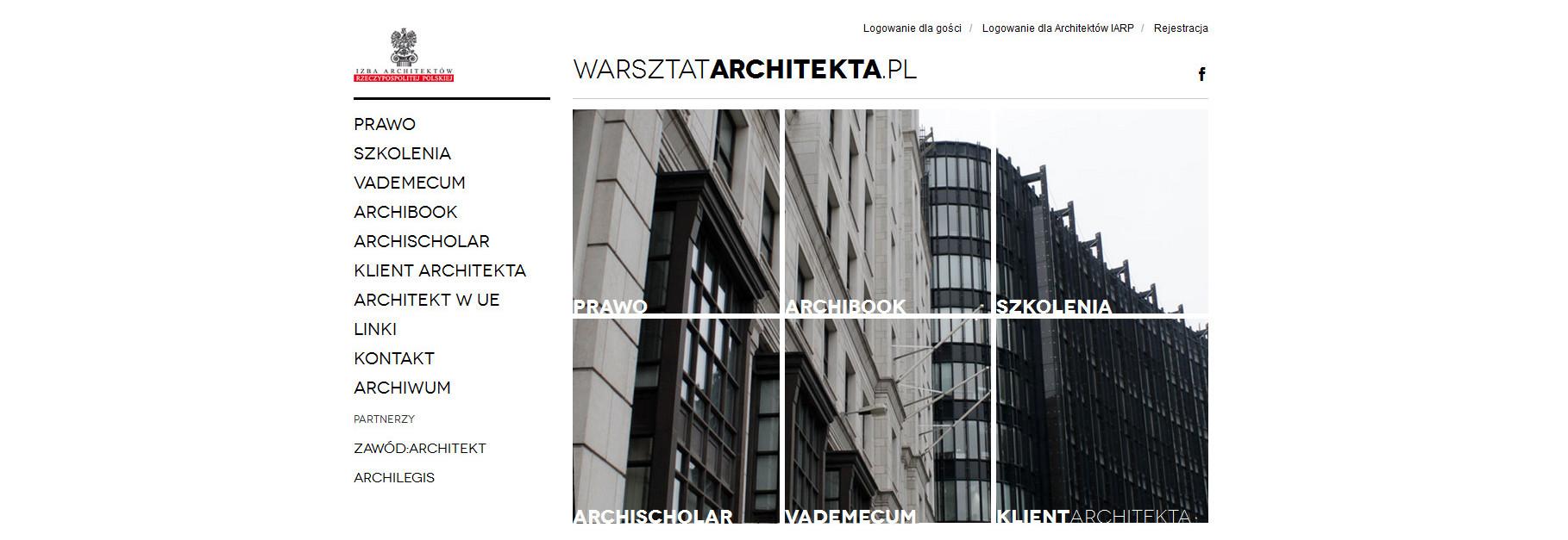 Warsztat Architekta – narzędzie pracy dla architektów
