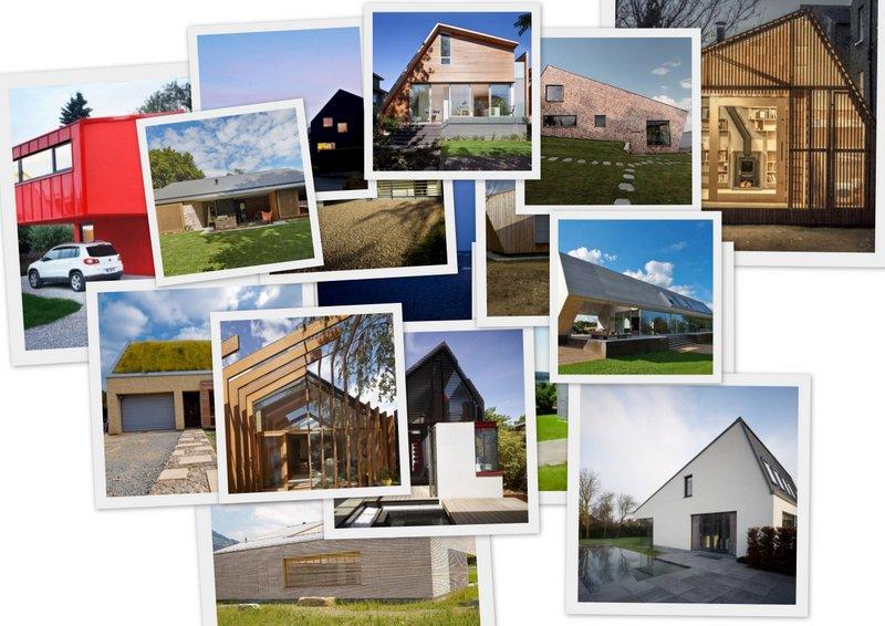 Dom z pomysłem na asymetryczny dach dwuspadowy