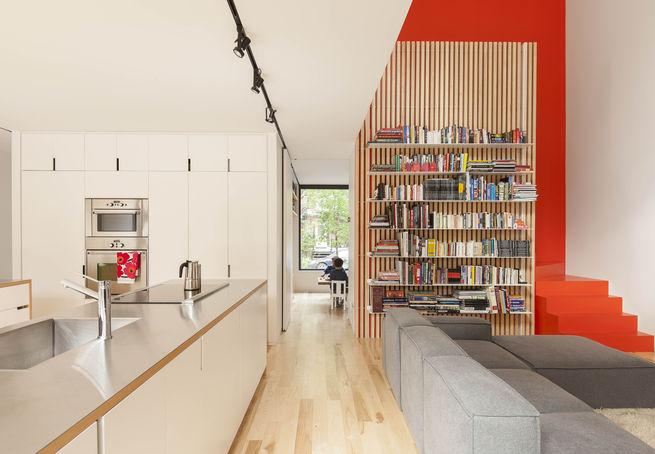 Gaspé House – przebudowa domu w Montrealu / la SHED Architecture