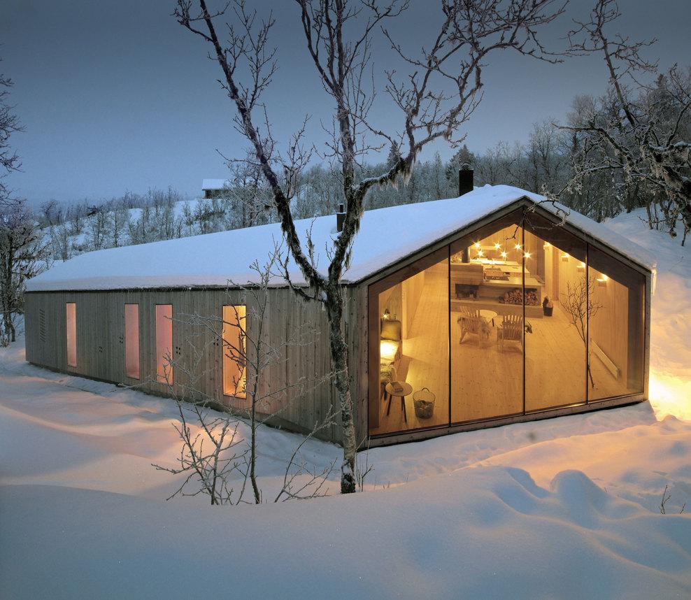 Siła spokoju – minimalistyczna chata w Norwegii /  Reiulf Ramstad Architects