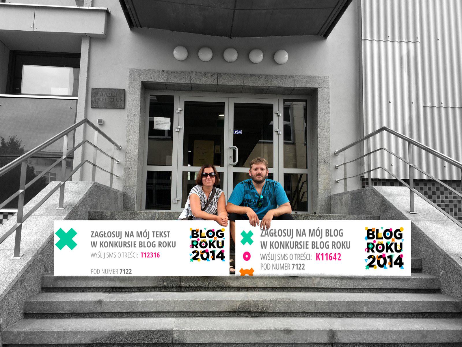 Konkurs BLOG ROKU 2014 – głosowanie czytelników. Liczymy na Was :) / głosowanie zakończone /