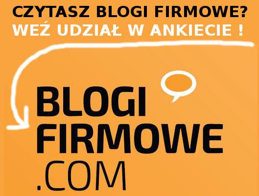 ANKIETA – Kto czyta blogi firmowe ?