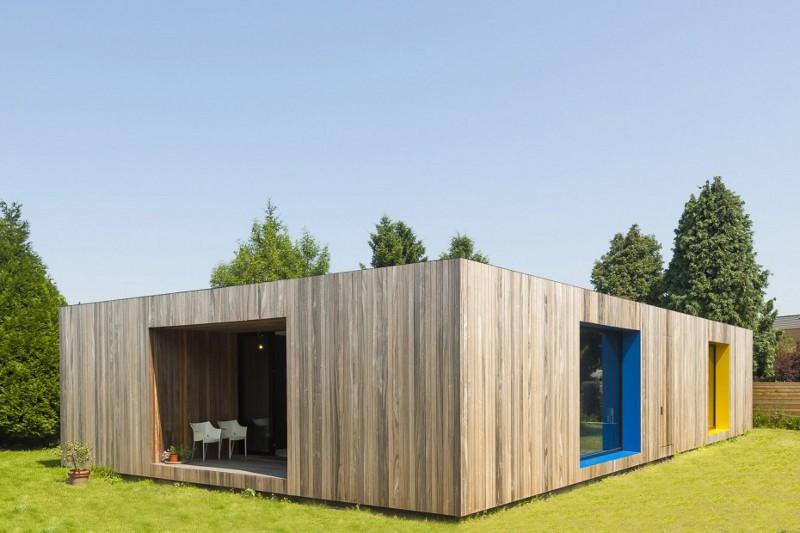 Gra w kolory / Dom dla artysty / Crepain Binst Architecture