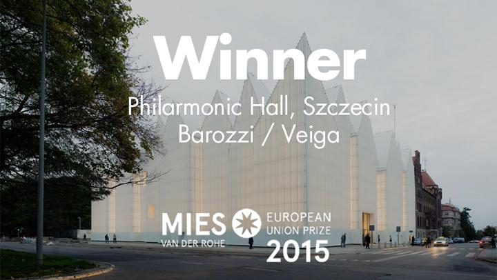 Filharmonia im. Mieczysława Karłowicza w Szczecinie laureatem nagrody Miesa van der Rohe 2015 [ wideo]
