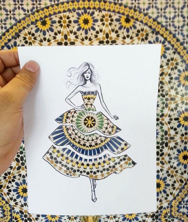 Moda-çizimleri-ve-bulutların-buluştuğu-an-Shamekh-Bluwi-3