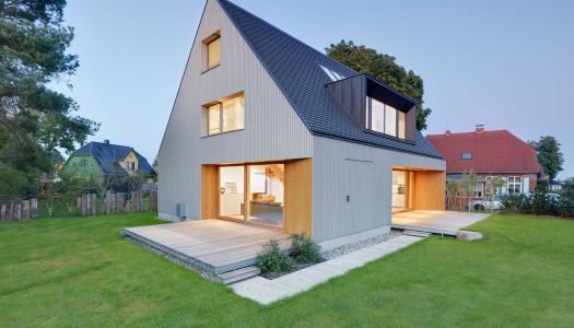 180 m2 domu / Moehring Architekten