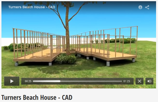 turners beach house cad