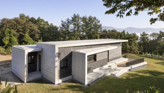 Podzielić na trzy – dom parterowy w Korei Południowej / Studio Origin