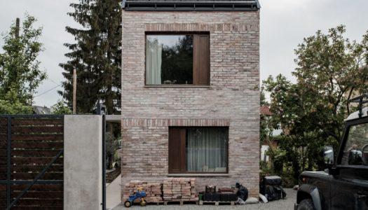 Plan miejscowy to nie problem / Dom w Budapeszcie /  Építész Stúdió